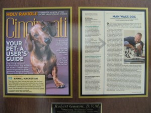 Dr Robert Gaston voted Best Holistic Veterinarian - 2006 Best of Cincinnati