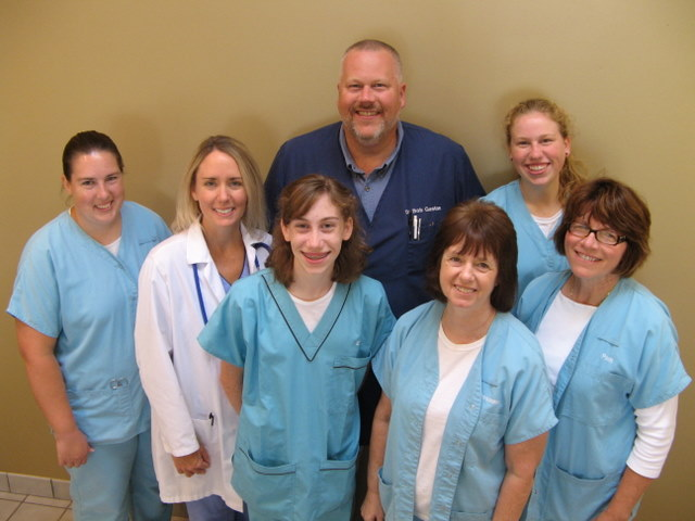 Dr Robert Gaston and the Staff of the Veterinary Wellness Center